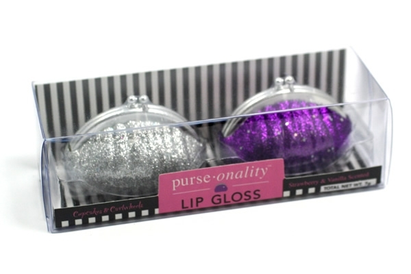 Glitter Purse Lip Gloss Packaging