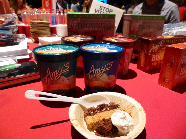 Amy's Kitchen Brownies and Ice Cream
