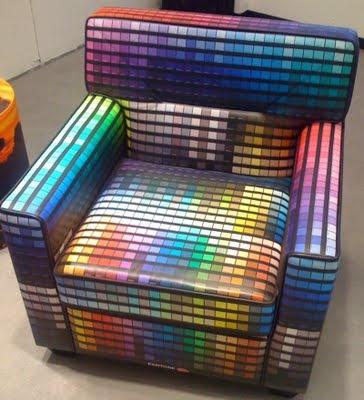 Pantone Armchair