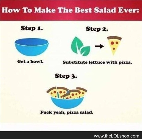 Pizza Salad