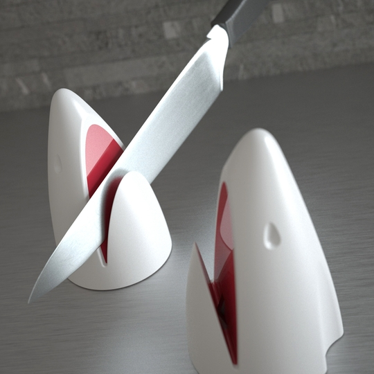 Shark Attack Knife Sharpener