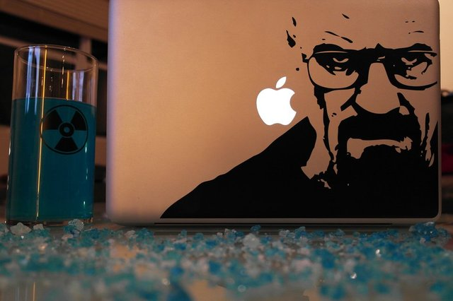 Breaking Bad Mac Decal | The Worleygig