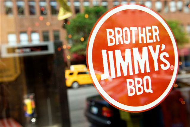 Brother Jimmys Signage