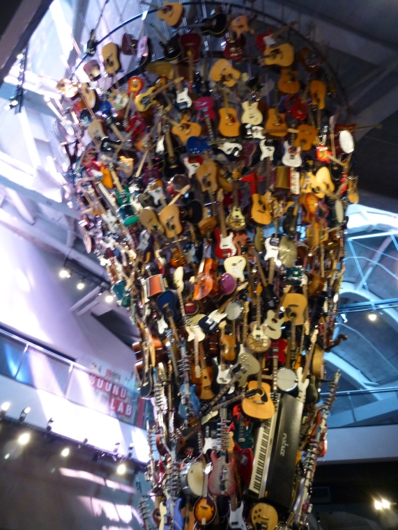 If Six Was Nine Guitar Sculpture