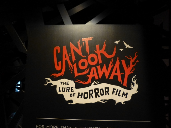 Lure of Horror Films Signage