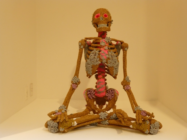 Olek Crocheted Skeleton