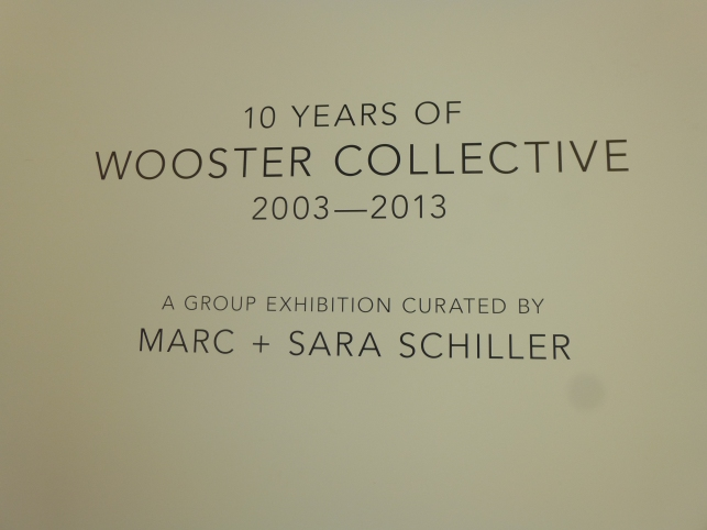 Wooster Collective Signage