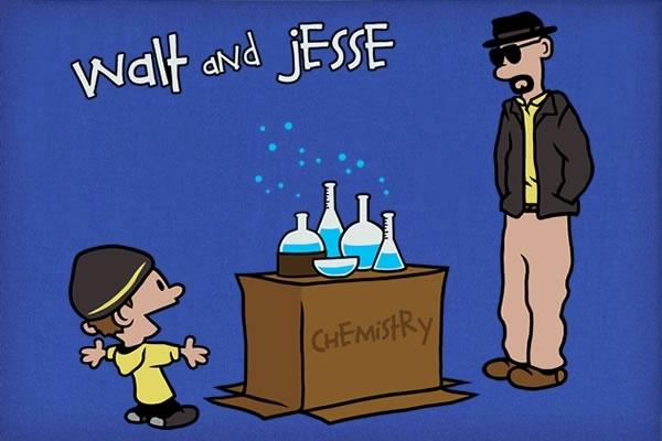 Walt and Jessie T Shirt