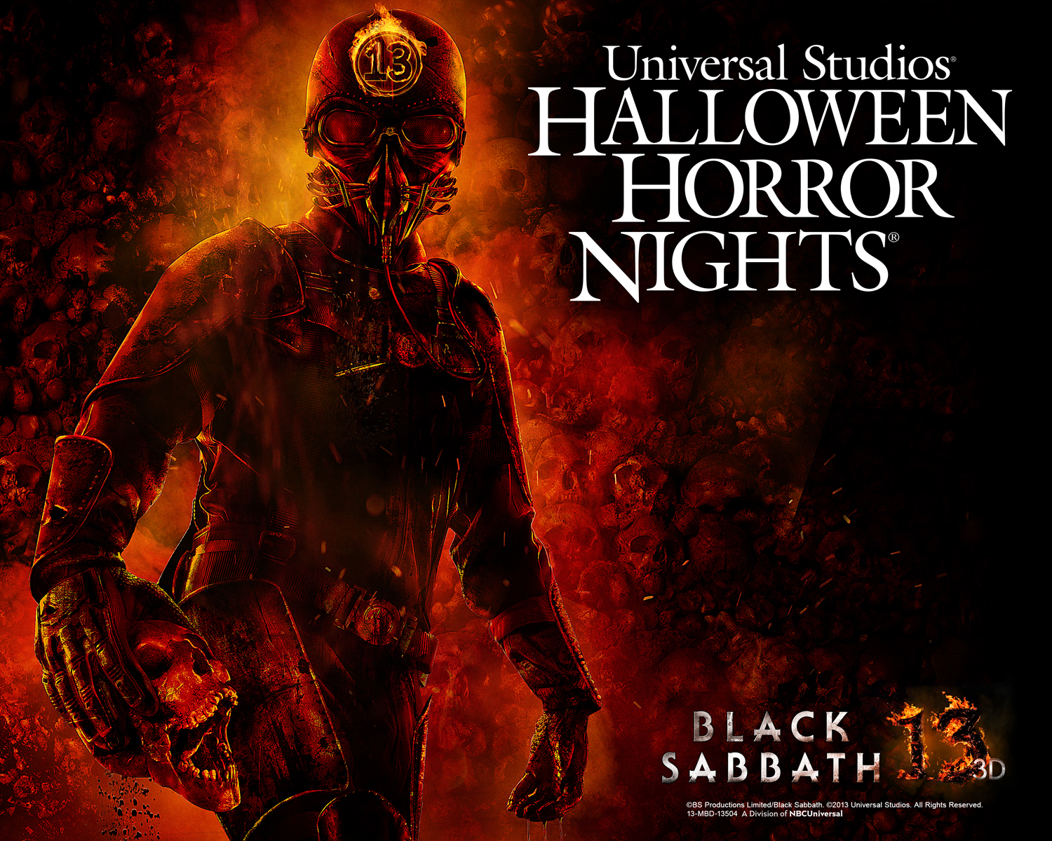 Black Sabbath Haunted Maze Is Part of Halloween Horror Nights at ...