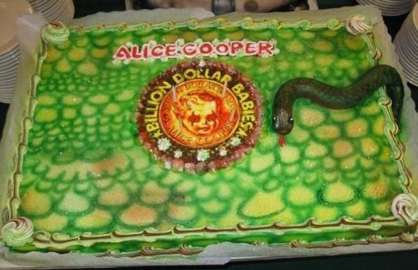 Alice Cooper B$B Cake