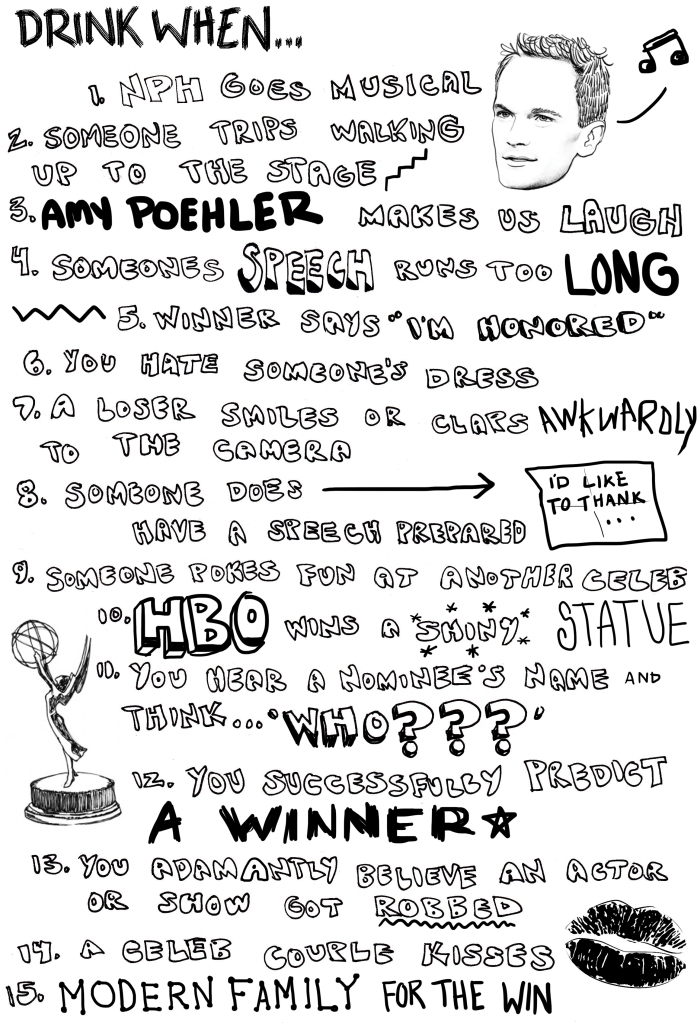 Emmys Drinking Game_Lights Camera Booze