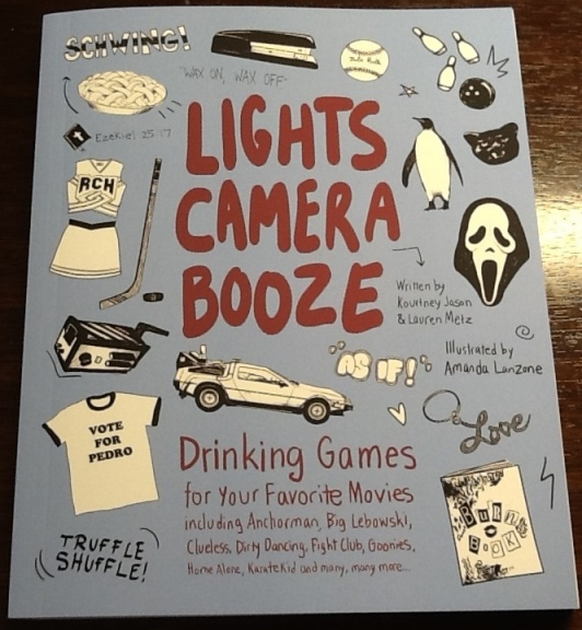 Lights Camera Booze Book Cover