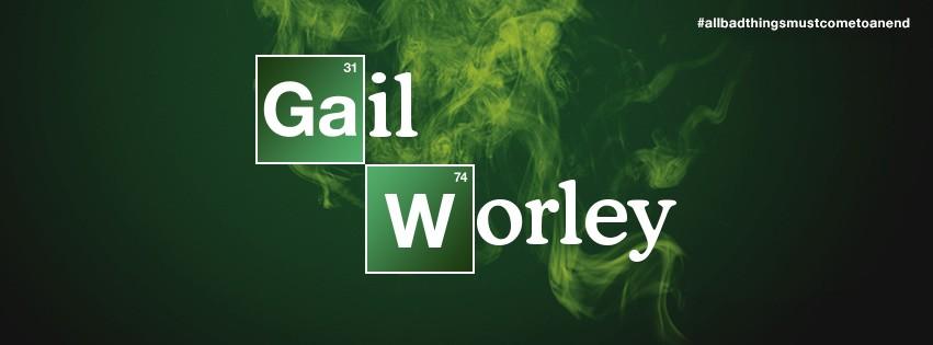 Awesome Gail Worley Breaking Bad Logo