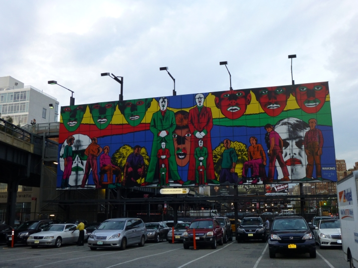 Gilbert & George Highline Billboard