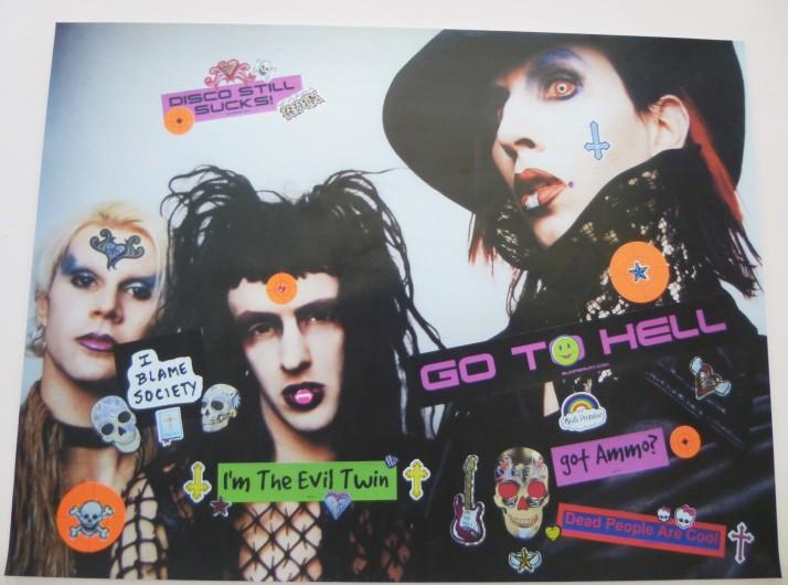 Marilyn Manson By Bruce Pavlow