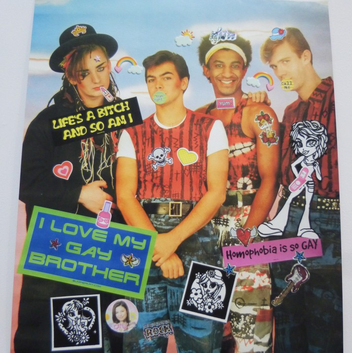 Culture Club Poster By Bruce Pavlow