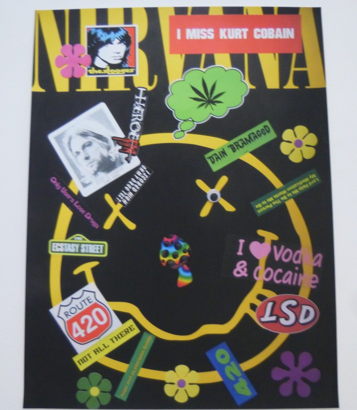 Drugs Poster By Bruce Pavlow