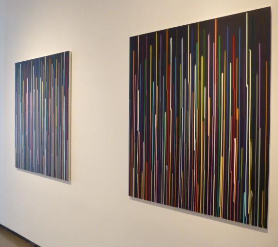 Ian Davenport Colorfall