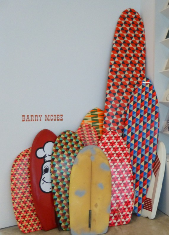 Barry McGee Surf Boards