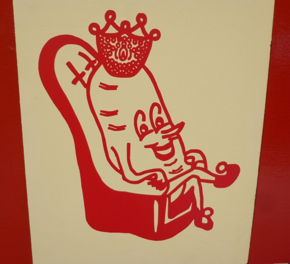 Red Potato King By Barry McGee