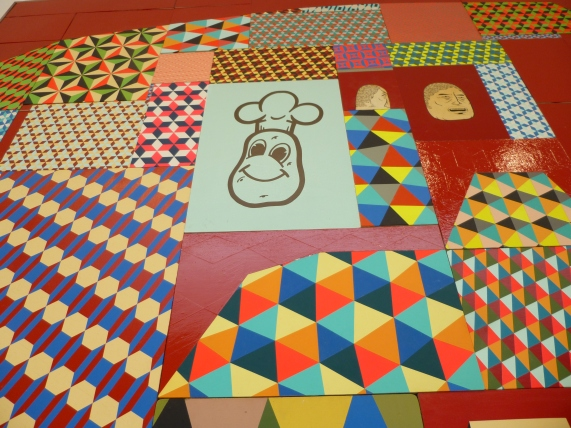 Details from Painting By Barry McGee