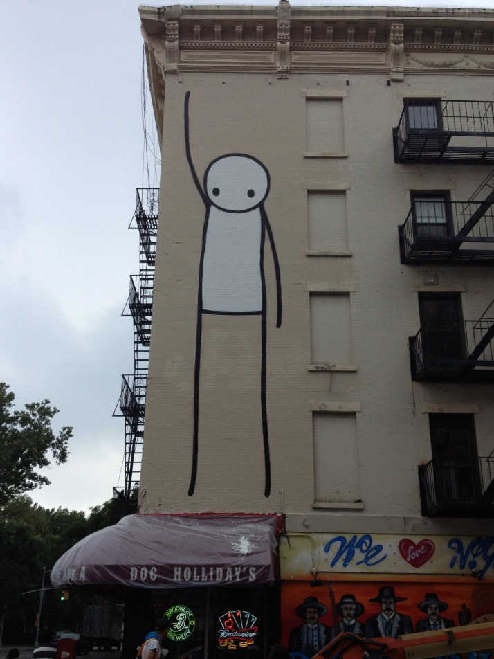 Liberty Mural by Stik