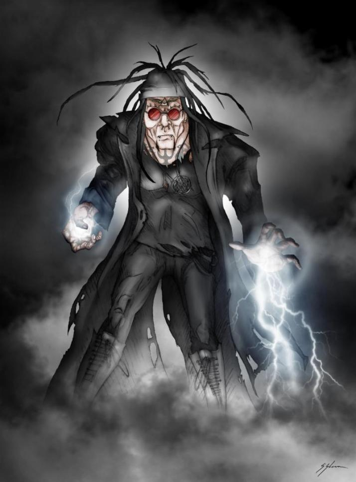 Al Jourgensen Comic Book Character