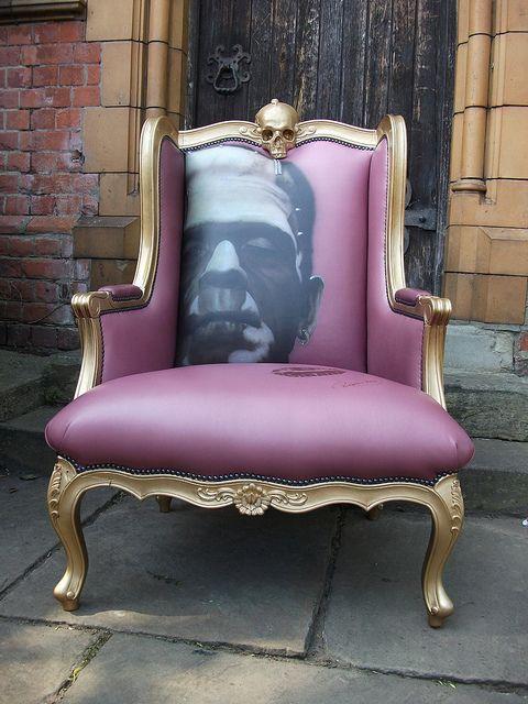 Frankenstein Art Chair