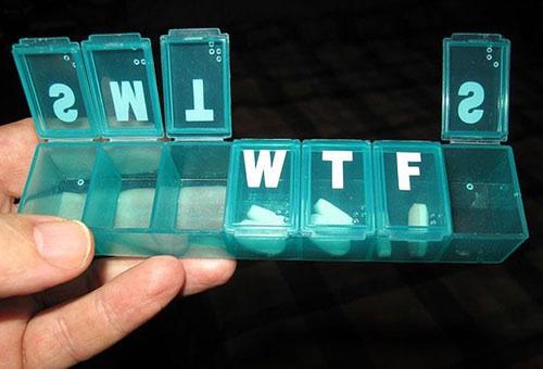 WTF Pill Box