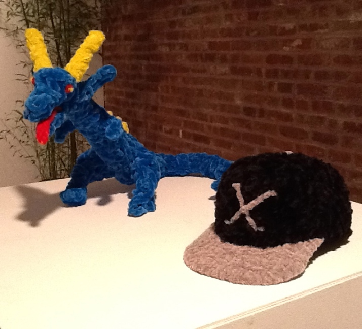 Blue Dragon and X Hat