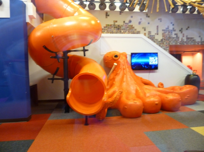 Giant Orange Octopus