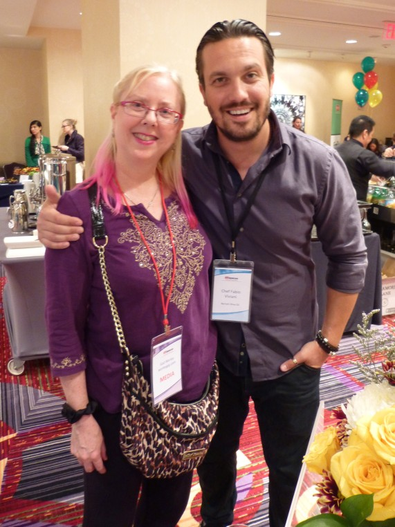 Gail and Fabio Viviani