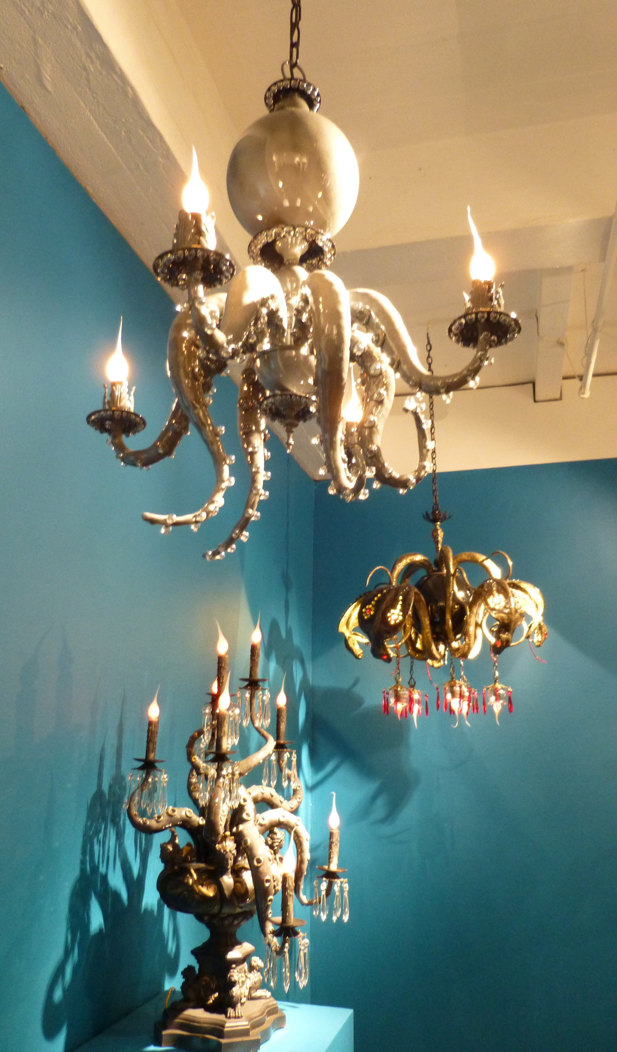 Adam wallacavage presents magic mountain the worley gig octopus chandeliers arubaitofo Image collections
