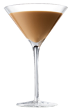 Three Olives Martini Glass