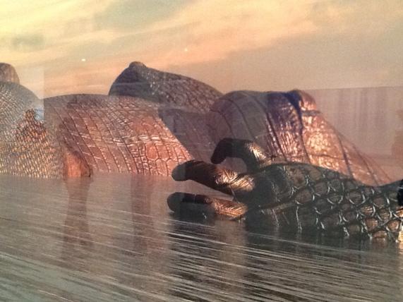 Kim Joon Island Aligator Detail