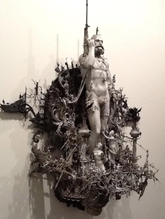Kris Kuksi Sculpture