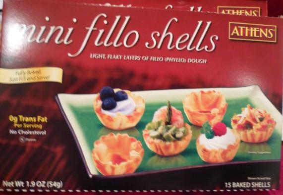 Athens Mini Fillo Shells Box