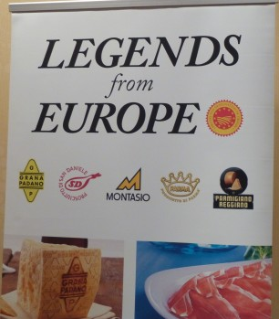 Legends from Europe Signage