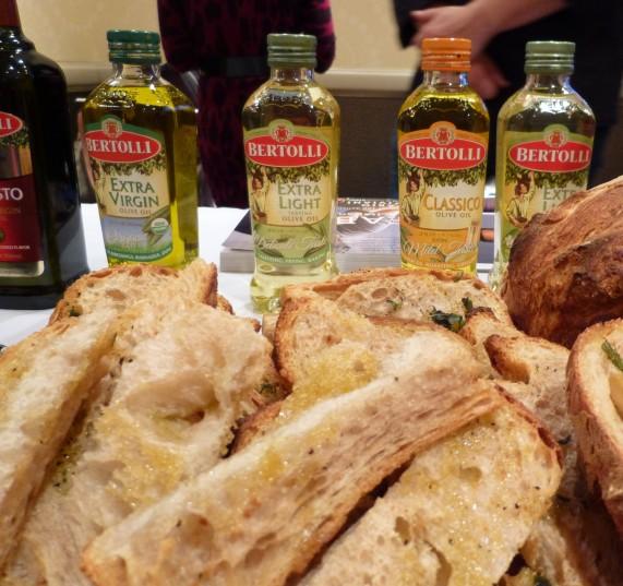 Bertolli Olive Oil Display