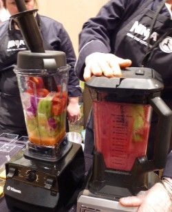 Ninja Blender in Action
