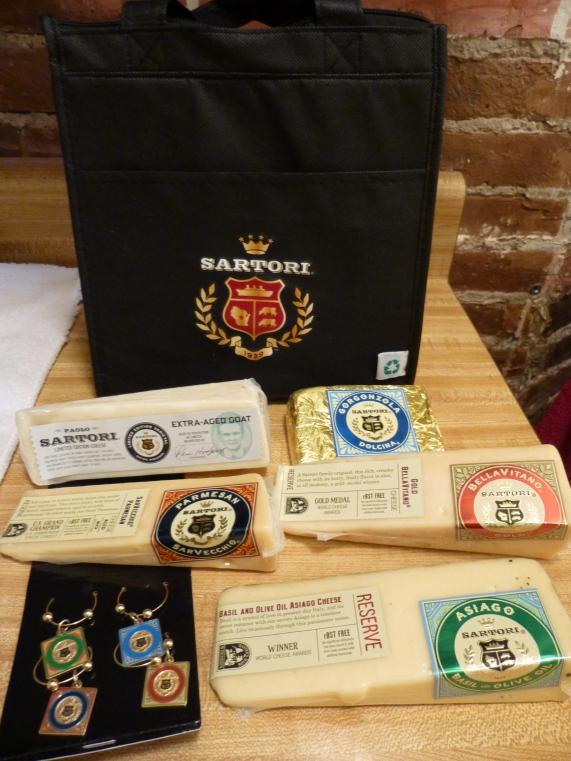 Sartori Cheese Gift Bag