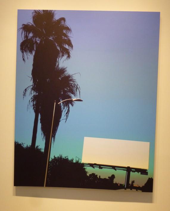 Glen Rubsamen Polygala Billboard and Palm Trees