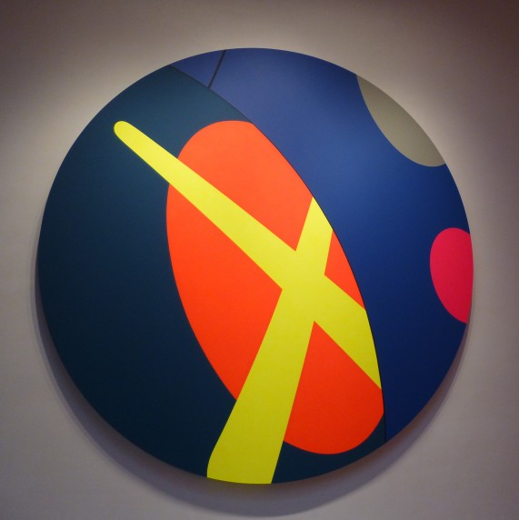 Kaws Blue Painting