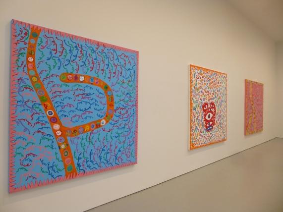 Yayoi Kusama 3 Paintings