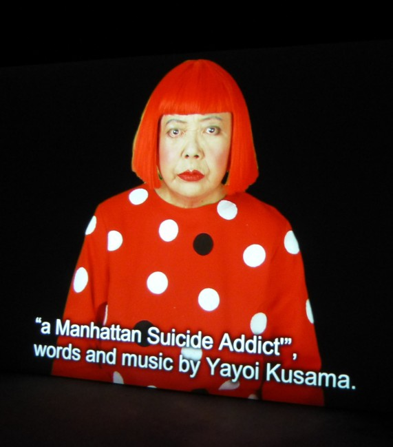 Yayoi Kusama Manhattan Suicide Addict
