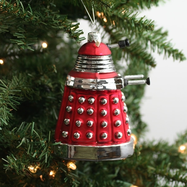Red Dalek Doctor Who Christmas Ornament | The Worleygig