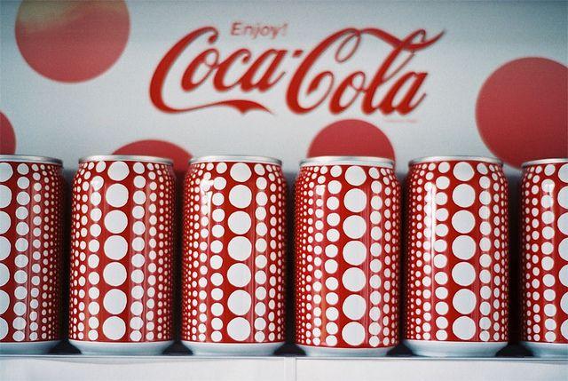 Yayoi Kusama Coke Can
