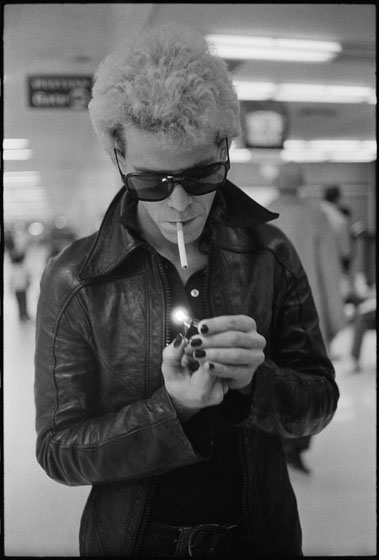 Lou Reed by Michael Zagaris