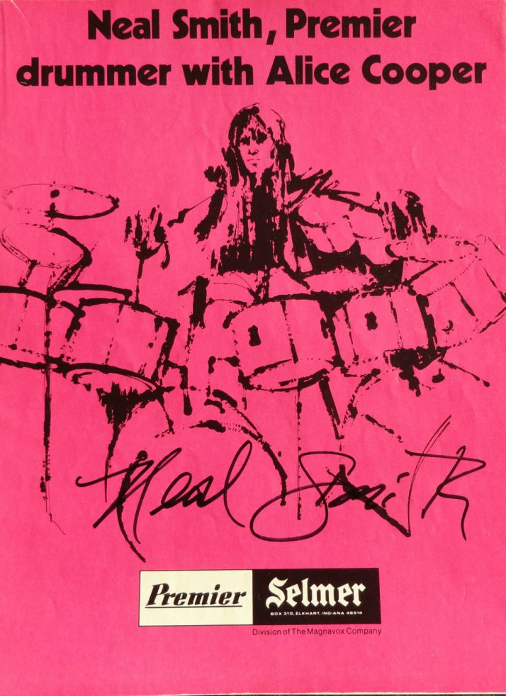 Neal Smith Pink Premier Ad