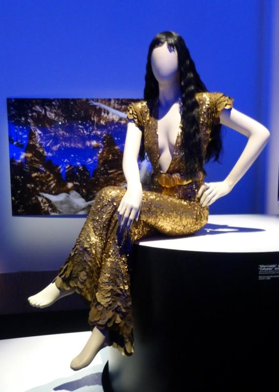 JPG Gold Mermaid Outfit